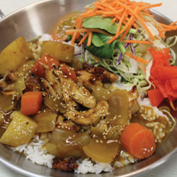 Chicken Curry - Melting Pot Tauranga