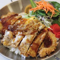 Chicken Katsu Donburi - Melting Pot Tauranga