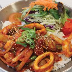 Seafood Donburi - Melting Pot Tauranga
