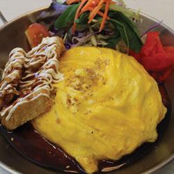 Chicken Katsu Omurice - Melting Pot Tauranga