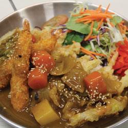 Tempura Prawn Curry - Melting Pot Tauranga
