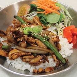 Teriyaki Chicken Donburi (Gluten Free) - Melting Pot Tauranga