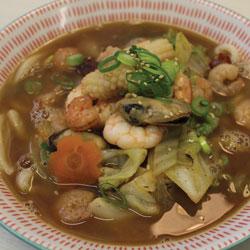 Seafood Udon - Melting Pot Tauranga