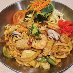 Seafood Yaki Udon - Melting Pot Tauranga
