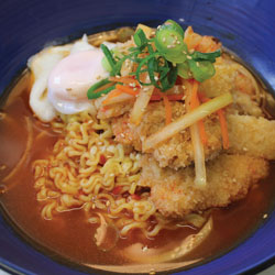 Chicken Katsu Ramen - Melting Pot
