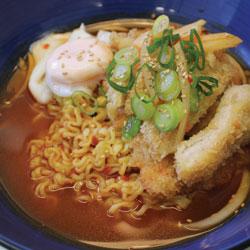Pork Katsu Ramen - Melting Pot Tauranga