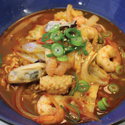 Seafood Ramen - Melting Pot Tauranga